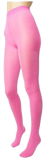Kate Spade Kate Spade New York - Pink Vivid Snapdragon Shimmer Tights Size SM/MD