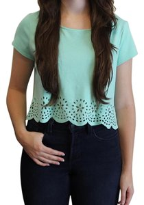 Pins and Needles Top Blue Green