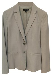 Ann Taylor Retail Like New Light Taupe Blazer