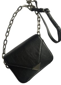 Alexander Wang Chain Leather Prisma Envelope Cross Body Bag