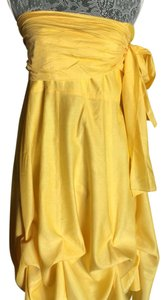 Granada short dress Yellow on Tradesy