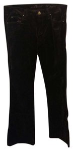7 For All Mankind Boot Cut Pants Brown