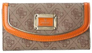 Guess GUESS Signature Orange Wallet
