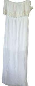 White Maxi Dress by Trixxi