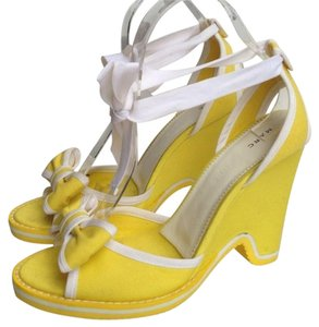 Marc by Marc Jacobs Yellow Wedges