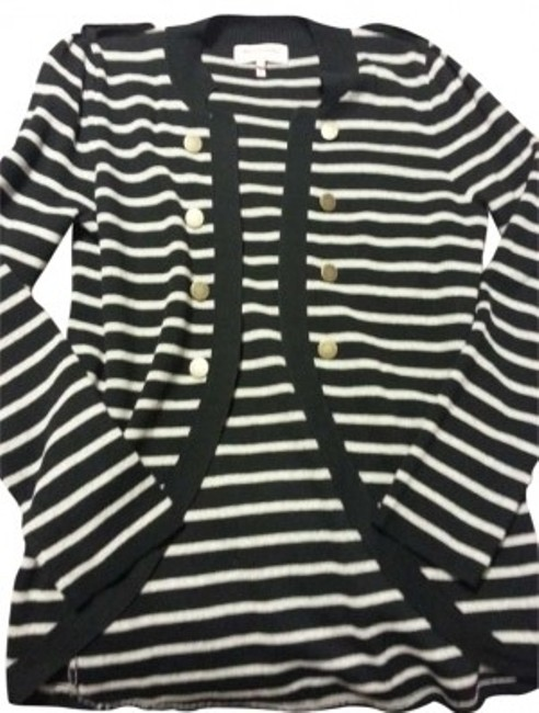Preload https://item2.tradesy.com/images/juicy-couture-black-and-grey-cardigan-size-12-l-158811-0-0.jpg?width=400&height=650