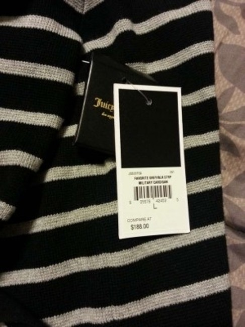 Juicy Couture Stripes Cardigan