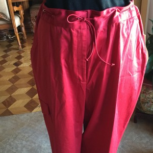 Worthington relax pans in beautiful red. Relaxed Pants Red
