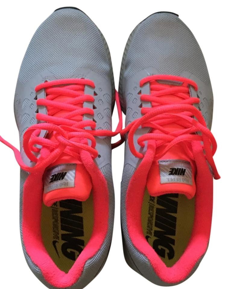 Nike Grey Hot and Hot Grey Pink Zoom Sneakers 618e30