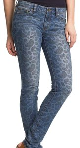 Michael Kors Paisley Skinny Jeans-Medium Wash