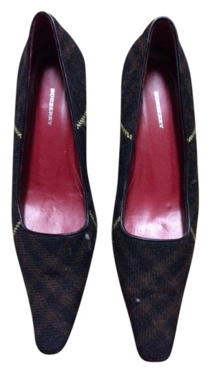 Burberry Black and brown Pumps
