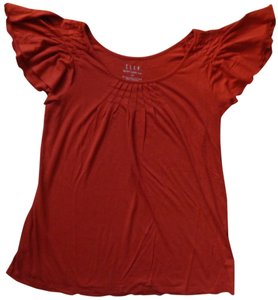 Elle T Shirt Rustic Orange
