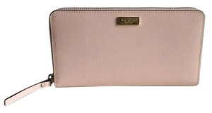 Kate Spade Kate Spade Neda Newbury Lane Soft Rosetta Leather Zip Around Wallet
