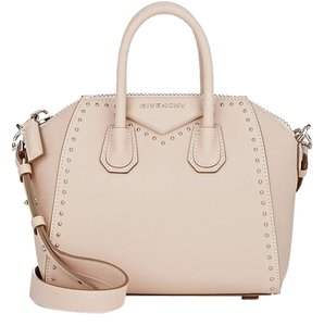 Givenchy Studded Satchel in Powder Pink