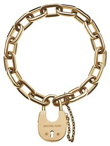 Michael Kors ## FLASH SALE ## NWT Gold Padlock Bracelet MKJ4627710