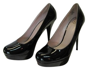 Size 9.50 M Black Platforms