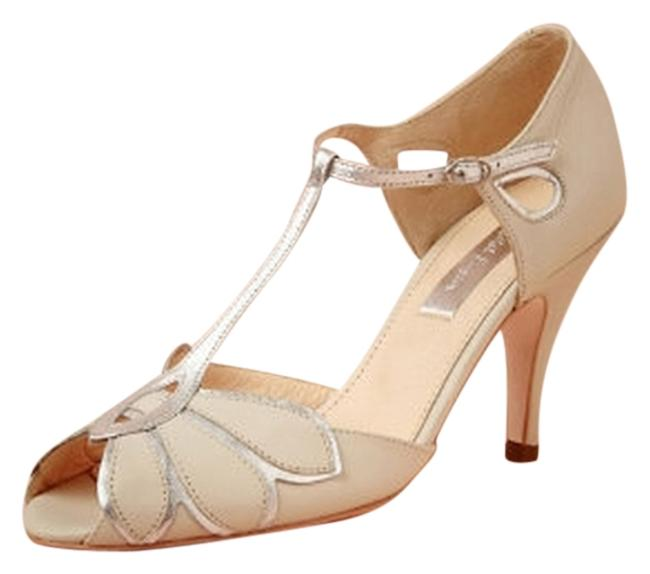 Item - Ivory Mimosa T-straps Formal Shoes Size US 8.5