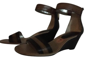 Tommy Hilfiger black and brown Sandals