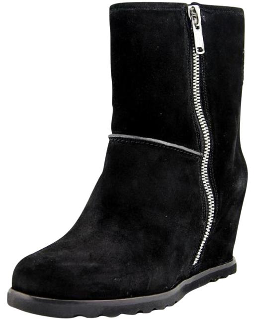 Marc by Marc Jacobs Black Harper Wedge Boots/Booties Size US 10 Regular (M, B) Marc by Marc Jacobs Black Harper Wedge Boots/Booties Size US 10 Regular (M, B) Image 1