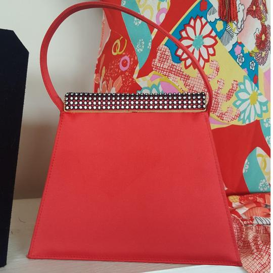 Red Haute Satchel in Red Image 0