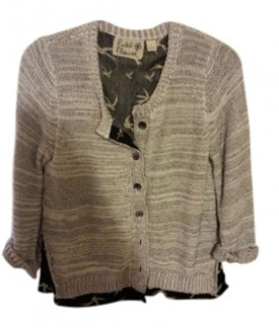 Preload https://item2.tradesy.com/images/anthropologie-black-and-white-bird-cardigan-size-12-l-158836-0-0.jpg?width=400&height=650
