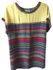 Karlie short dress multi Color Short Sleeved on Tradesy
