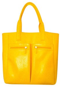 Neiman Marcus Tote in yellow