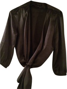 Banana Republic Top Off Black