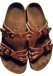 Birks brown/tan Sandals
