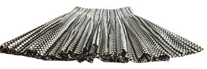 Club Monaco Skirt Black/White