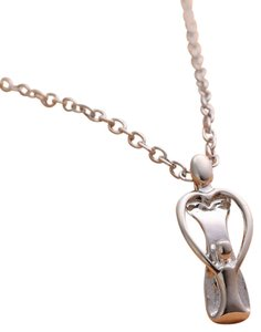 9.2.5 mother daughter single sister family silver chain necklace kid child baby mom