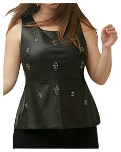 Lane Bryant Bustier Top black