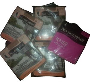 Other 4 Pair Smart Support Panty Hose & 2 Pair Knee Highs ~ New