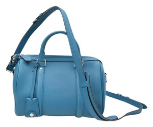 Louis Vuitton Sc Bb Sofia Coppola Speedy Satchel in Blue Canard Bag