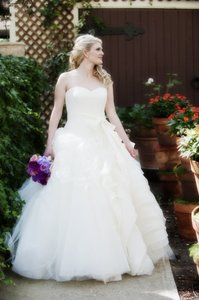 Vera Wang Ball Gown Lara Chantilly Style #120213 Wedding Dress