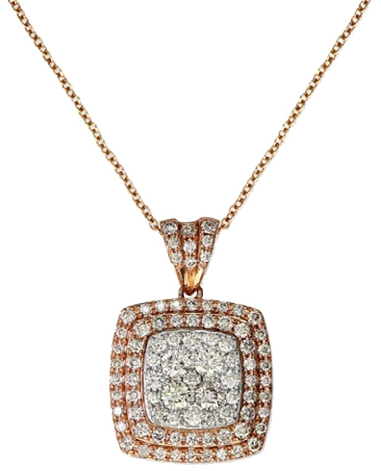 rose dia sethi products necklace gold a couture with diamond baguette grande