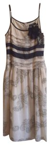 Black gold ivory tan Maxi Dress by Zoompy Paris