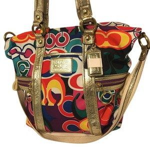 Coach Tote in Pop C Multi