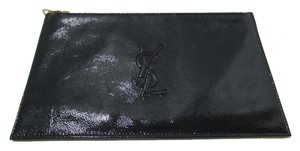Saint Laurent dark green Clutch