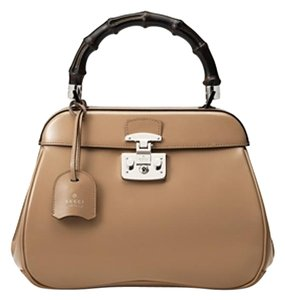 Gucci Top Handle Lady Lock Top Handle Lady Lock Satchel in Beige