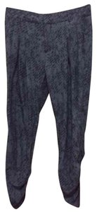 Parker Trouser Pants Blue and black