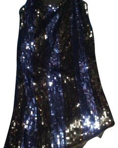 Speechless short dress Black and Blue on Tradesy