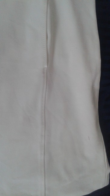 Les Copains White 42 Fitted By Made In Italy Mid-length Work/Office Dress Size 6 (S) Les Copains White 42 Fitted By Made In Italy Mid-length Work/Office Dress Size 6 (S) Image 3