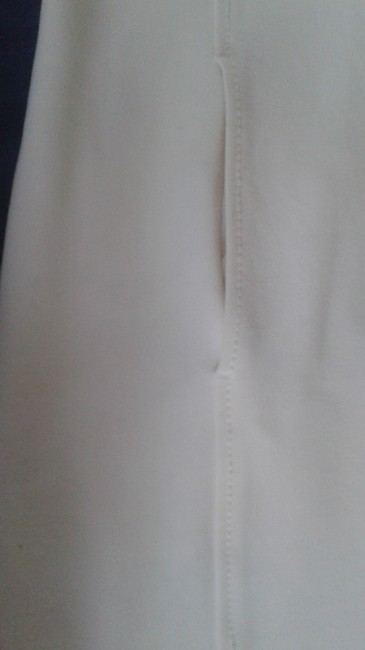 Les Copains White 42 Fitted By Made In Italy Mid-length Work/Office Dress Size 6 (S) Les Copains White 42 Fitted By Made In Italy Mid-length Work/Office Dress Size 6 (S) Image 5