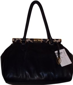 Carlos by Carlos Santana Satchel in black/leopard