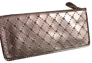 rga accessories Silver Sparkle Clutch Wallet