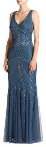 Aidan Mattox Gown Embellished Evening Dress