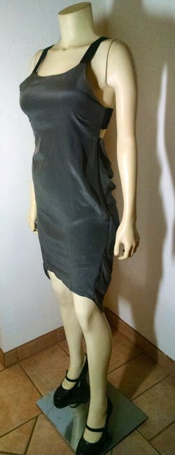 Olivaceous Size Small Silk P1023 Dress