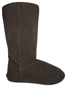 Bjorndal Leather Suede Sheepskin brown Boots
