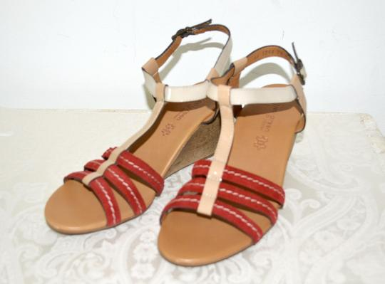 Paul Green Austria Wedges Comfortable Nordstroms Red Sandals Image 1